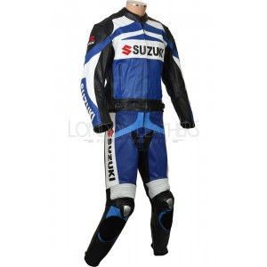 Suzuki GSXR Supersport Leather Motorcycle Suit